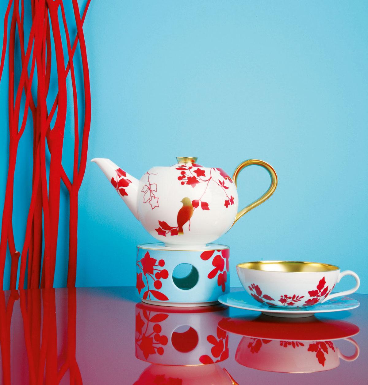 Invitatie eleganta la ceai