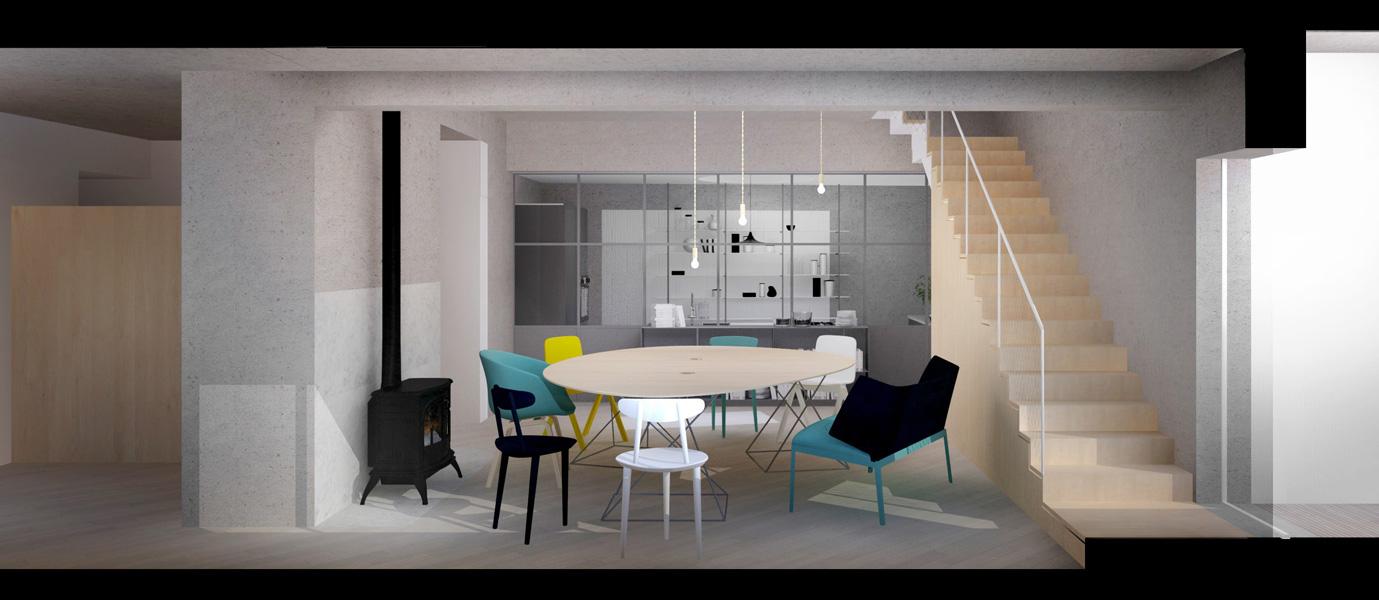penthouse eliza yokina dining