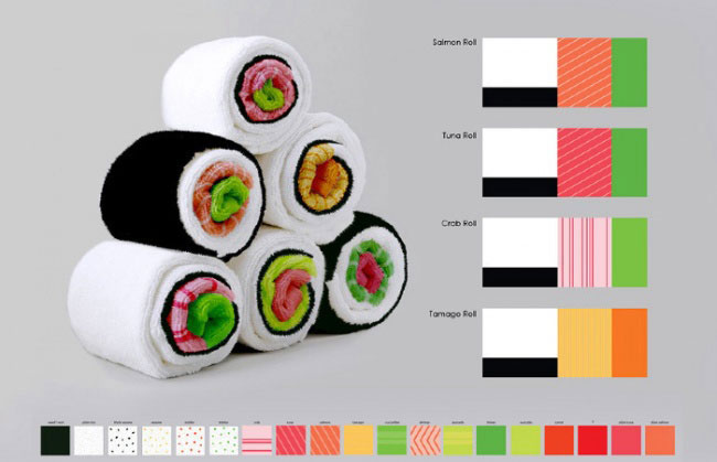 sushi-roll-kitchen-towel-jenny-pokryvailo