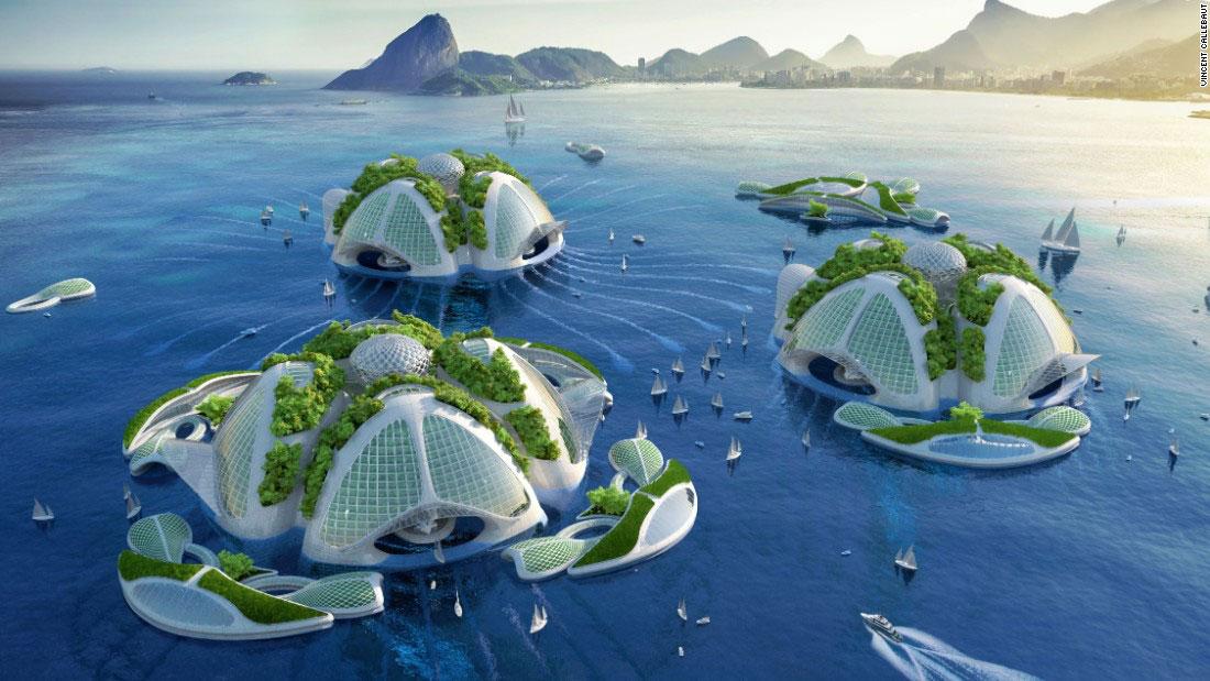Casele subacvatice, o posibila solutie la suprapopularea planetei