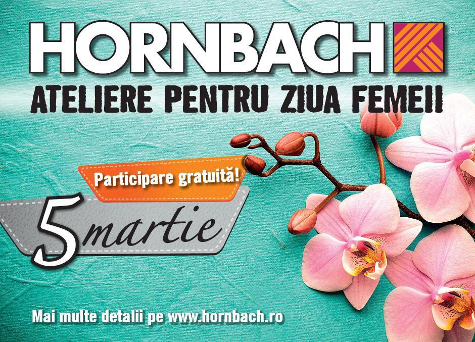Cu ocazia zilei de 8 martie, Hornbach organizeaza ateliere de arta decorativa si de gradinarit