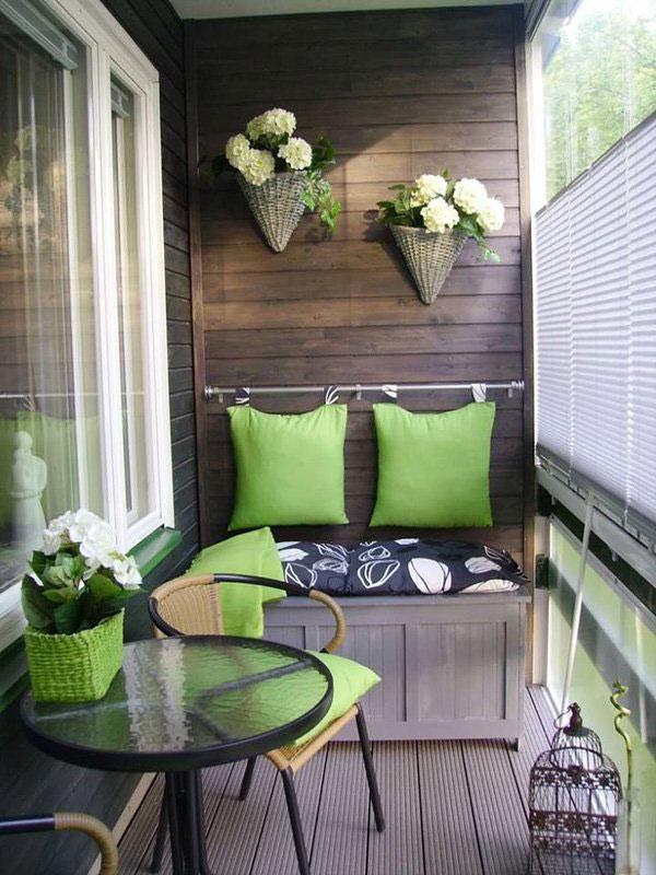 Idei inedite pentru amenajarea balconului