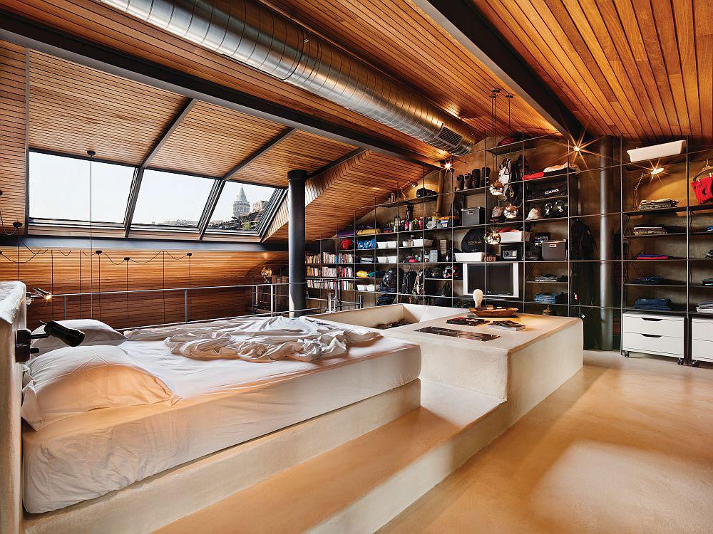 dormitor-in-stil-industrial