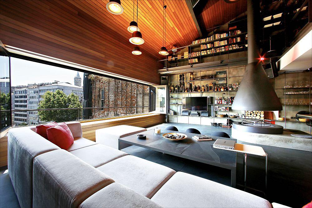 Cum arata penthouse-ul perfect pentru un burlac