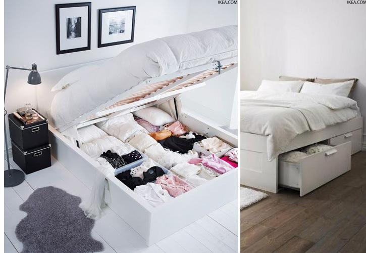 paturi cu depozitare