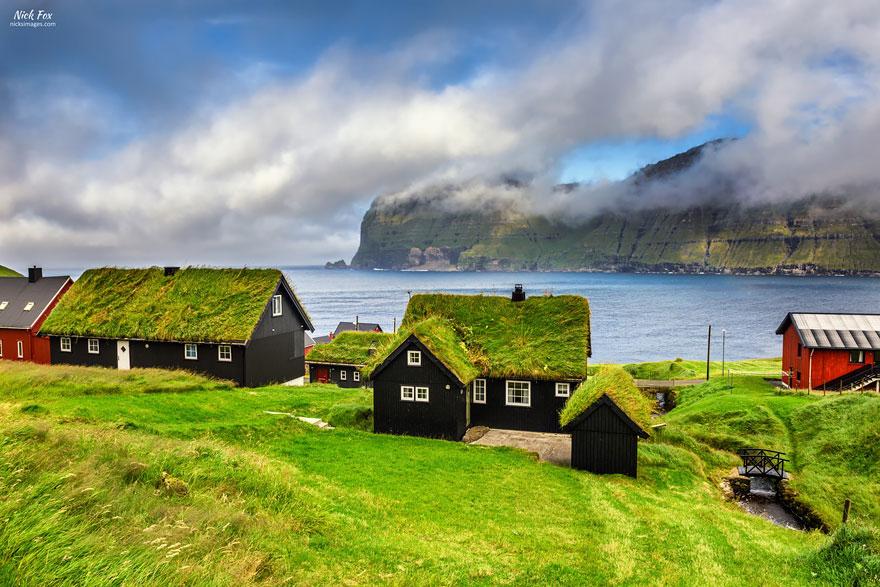 casa cu acoperis verde 3