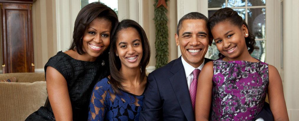 familia-Obama