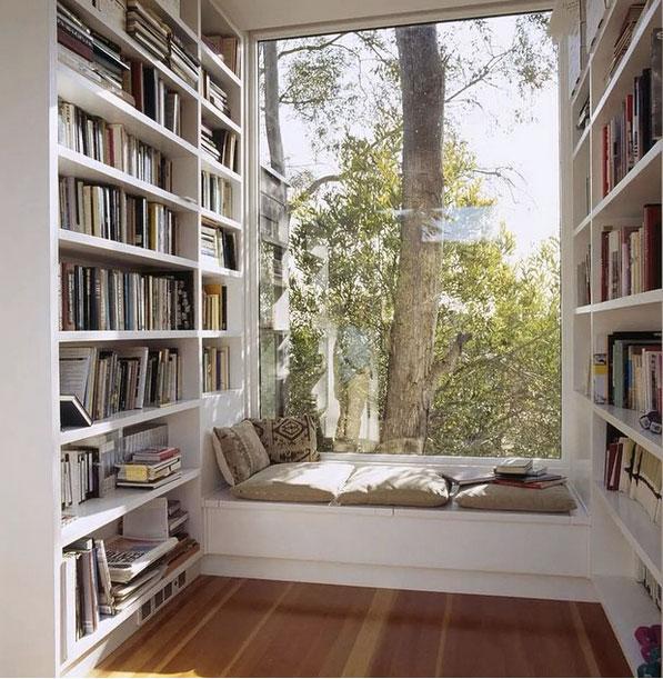 17 idei cu dichis pentru amenajarea unui loc de citit fermecator