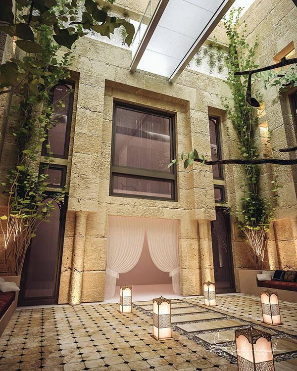 curte interioara design Shomou Salah 3