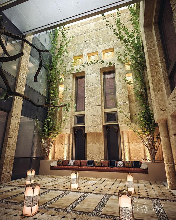 curte interioara design Shomou Salah 6