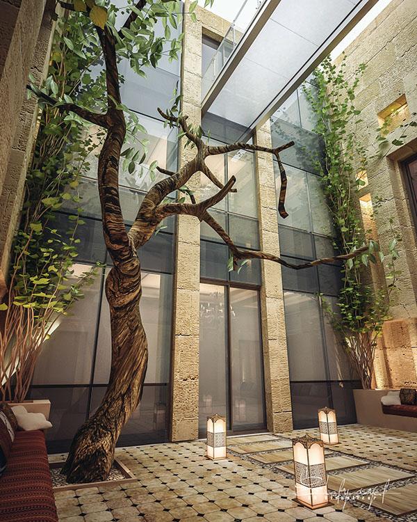 curte interioara design Shomou Salah 7