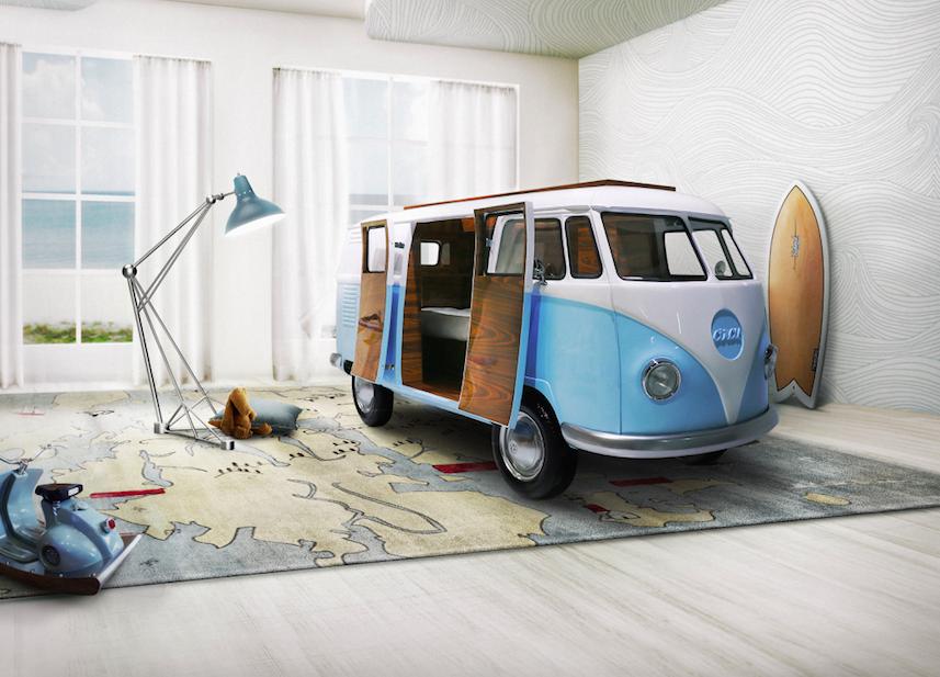 Bun Van – un pat-autobuz spectaculos, in editie limitata