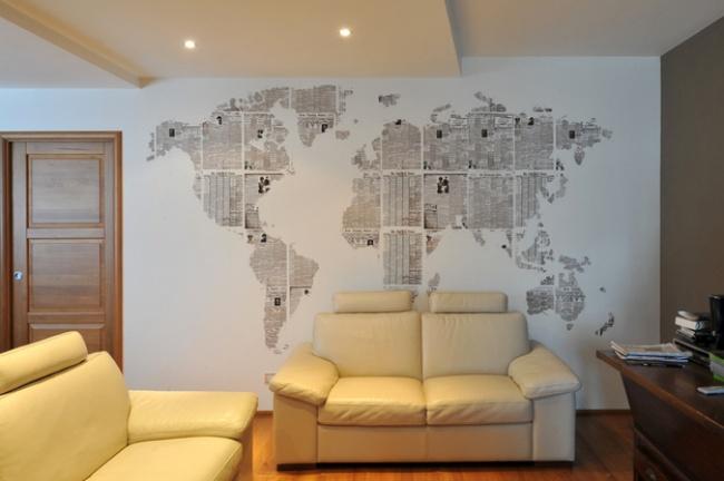 harta lumii DIY