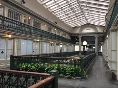 Mall transformat intr-un ansamblu de locuinte