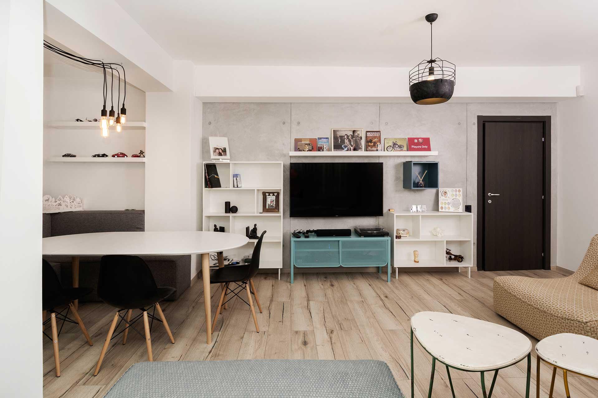 apartament cu look nordic