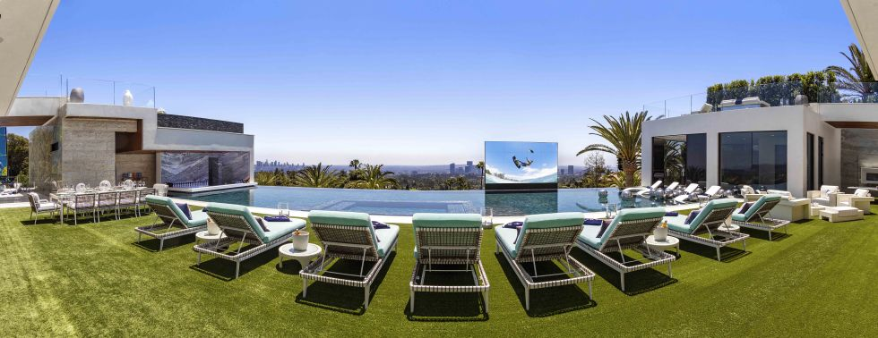 cea mai scumpa casa din America infinity pool