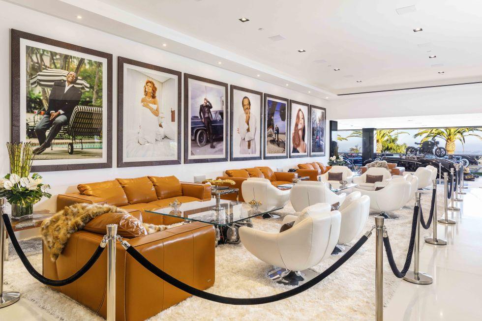 cea mai scumpa casa din America lounge