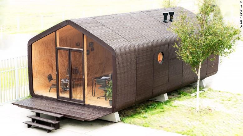 casa ecologica din carton