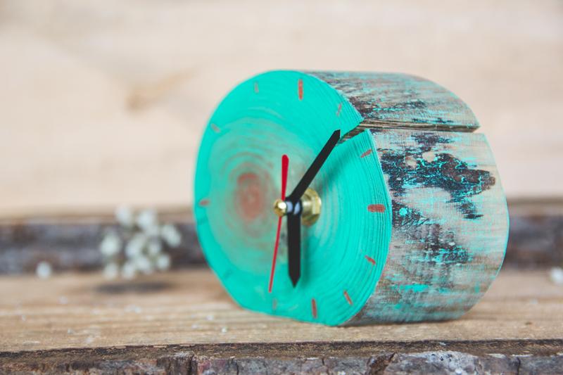 ceasuri din lemn deco box