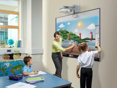 Proiectoare smart pentru scoli si companii
