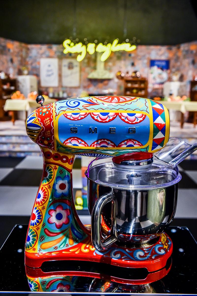 electrocasnice Smeg - Dolce&Gabbana storcator de fructe