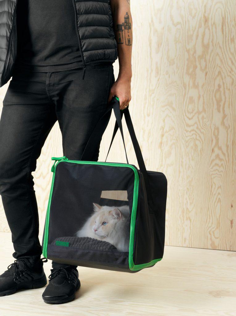 geanta de transportat pisici