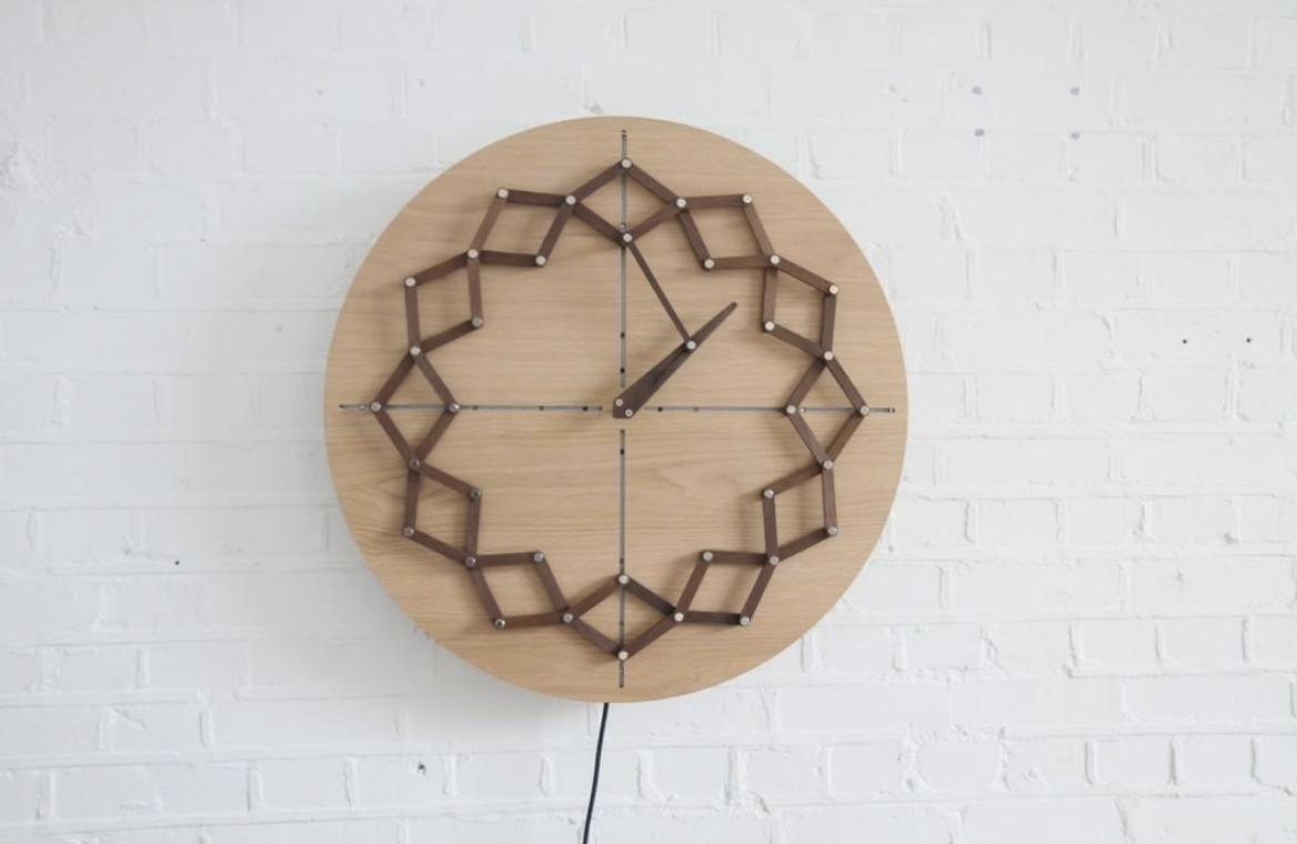 ceas din lemn Animaro Design