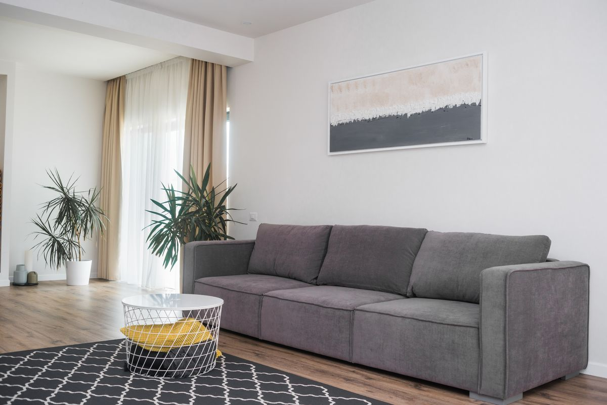 interior minimalist amenajare living