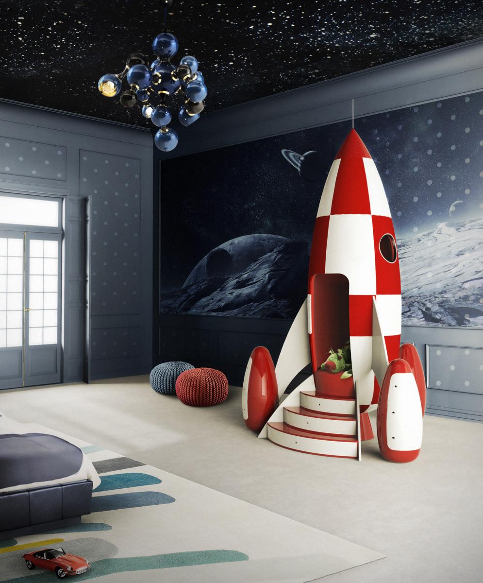 O fantezie de mobilier pentru copii