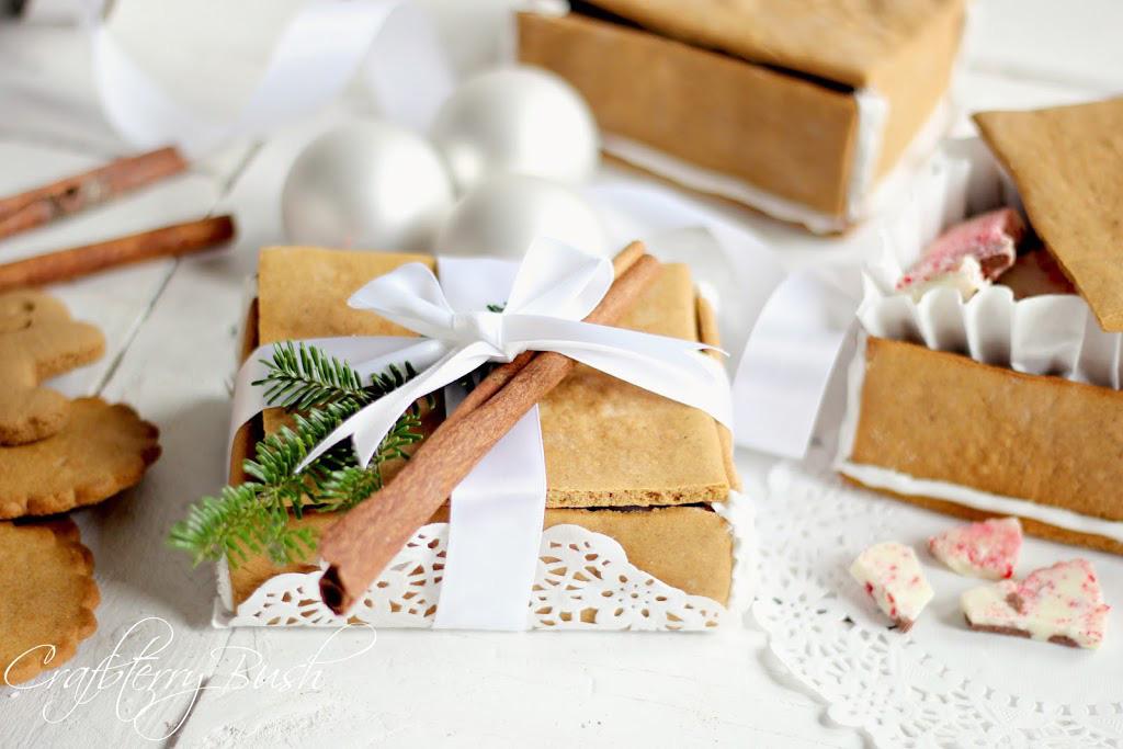 Cutii pentru cadou, din turta dulce