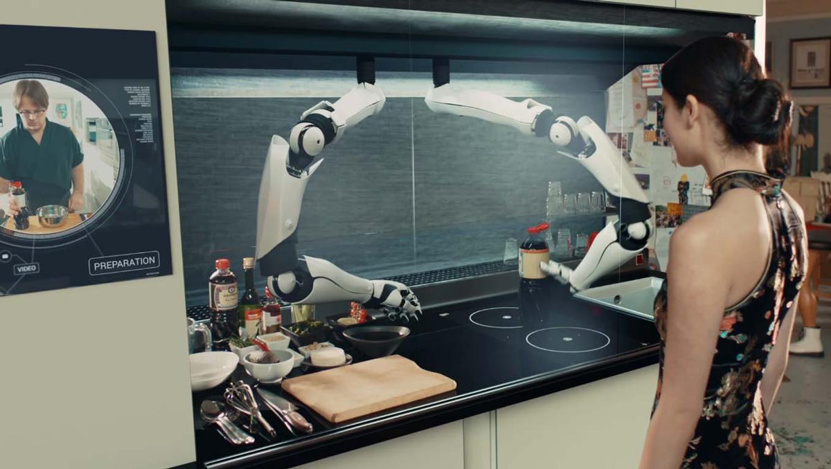 A fost inventat robotul care gateste singur