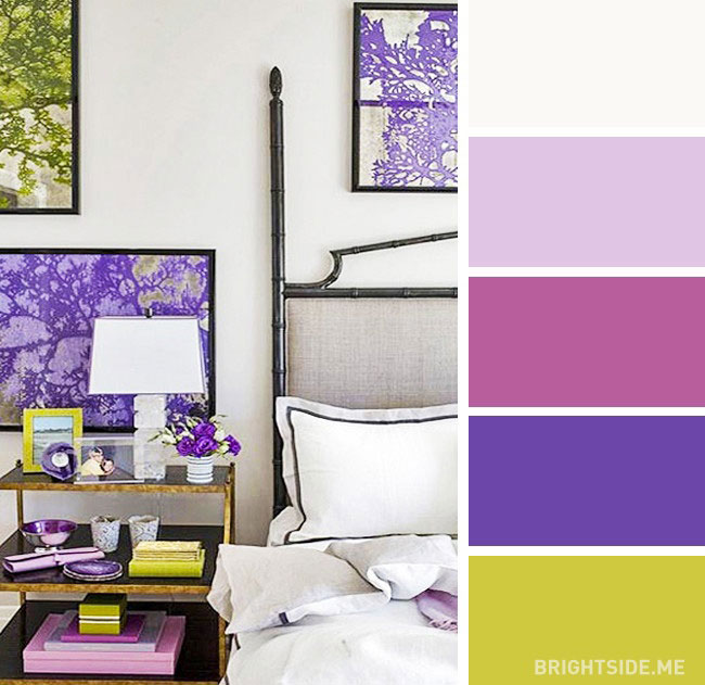 Ce culori folosim in dormitor? 20 de scheme cromatice pline de farmec