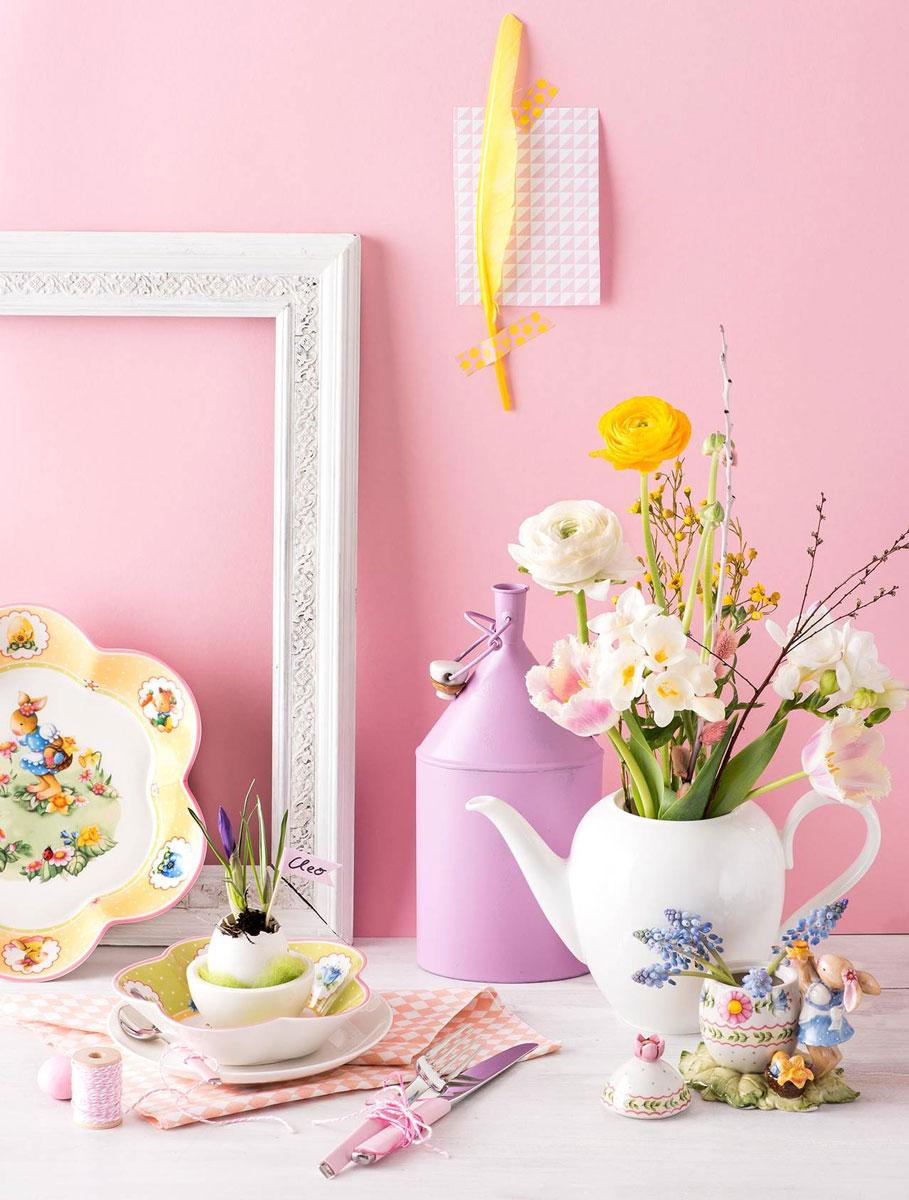 Inspiratie pentru decorarea mesei de Paste