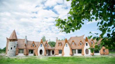 Un loc de basm langa Sibiu: Castelul de Lut Valea Zanelor