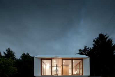 Casa modulara ieftina, inspirata din arhitectura japoneza