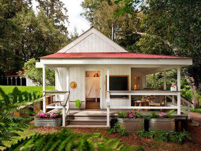 Case mici, cu design de zile mari