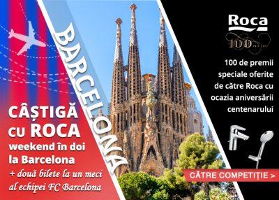 Concurs: câștigă o excursie la Barcelona!